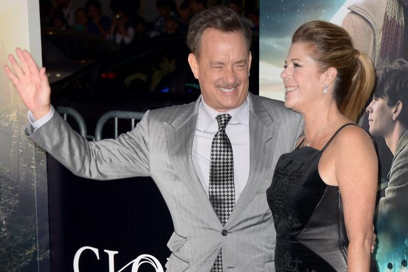 Aktorius T. Hanksas vėl taps seneliu. Jo sūnus antrą kartą taps tėvu