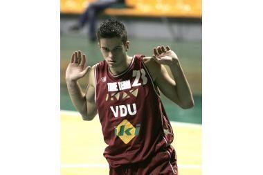 Naudingiausias LSKL penktojo turo krepšininkas – M.Kalnietis