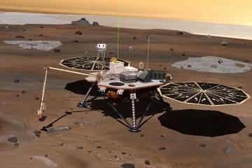 Amerikiečių zondas leisis Marse