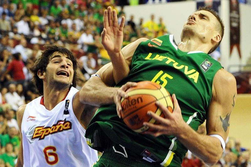 Europos krepšinis: Ispanija – Lietuva 90:78