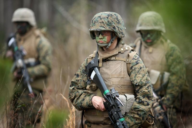 JAV per pratybas amunicijos saugykloje žuvo 7 jūrų pėstininkai