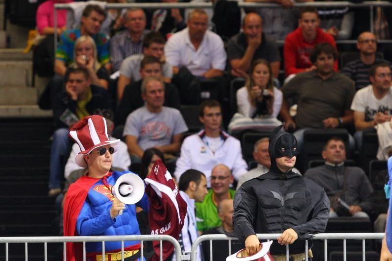 Latvijos rinktinė Šiaulių arenoje - tarsi namuose
