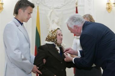 Prezidentas pagerbė Lietuvos Teisuolius