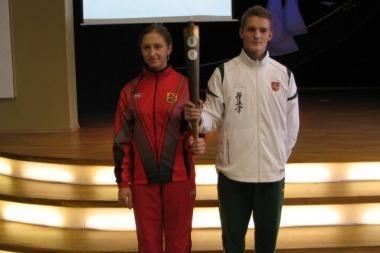 Mokinių olimpiniame festivalyje rekordas – dar net neprasidėjus kovoms