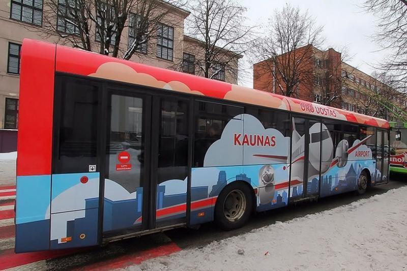 Naujovė Kauno viešajame transporte – specialiai paženklinti autobusai