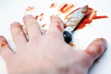 Klaipėdos uoste vyras švaistėsi peiliu