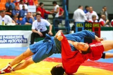 Europos sambo pirmenybėse lietuviams atiteko trys medaliai