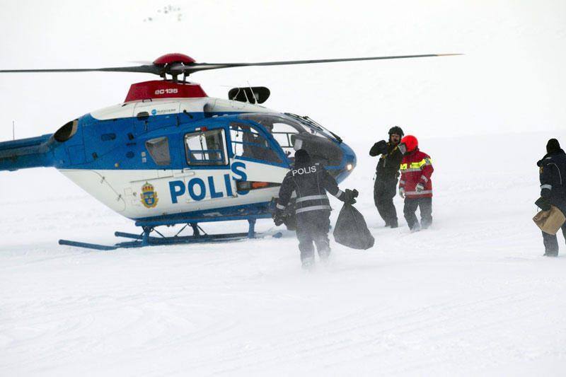 Norvegijoje grupę turistų užgriuvo lavina, vienas atkastas gyvas