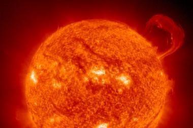 Ispanė pareiškė esanti Saulės savininkė
