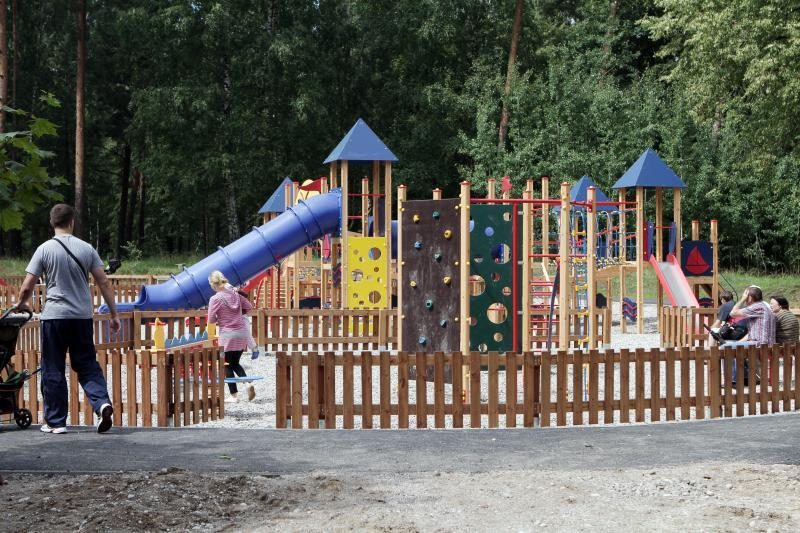Ukmergėje baigia išnykti vaikų žaidimų aikštelės