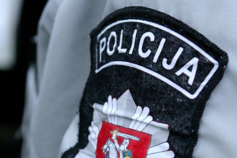 Per avariją Vilniuje nukentėjo du policininkai