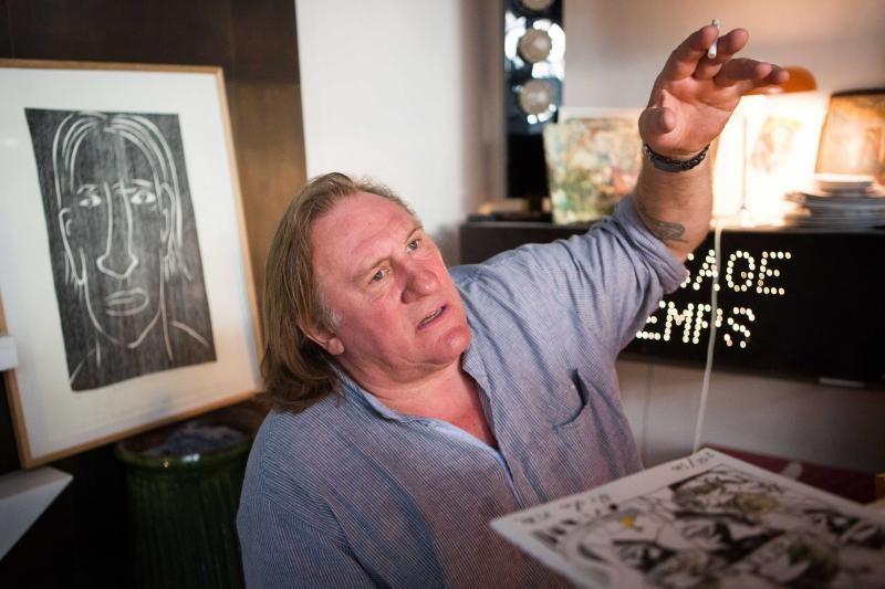 G. Depardieu iškilo sunkumų siekiant Belgijos pilietybės?