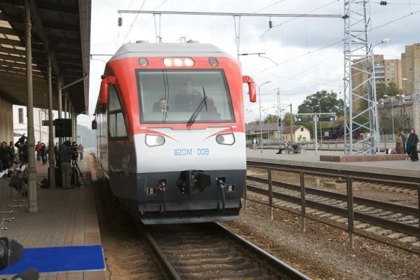 """Traukinukas """"Geležinkelio stotis - Oro uostas"""