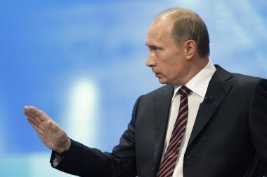 Politologai: V.Putinui reikia daugiau Lietuvos nuolankumo
