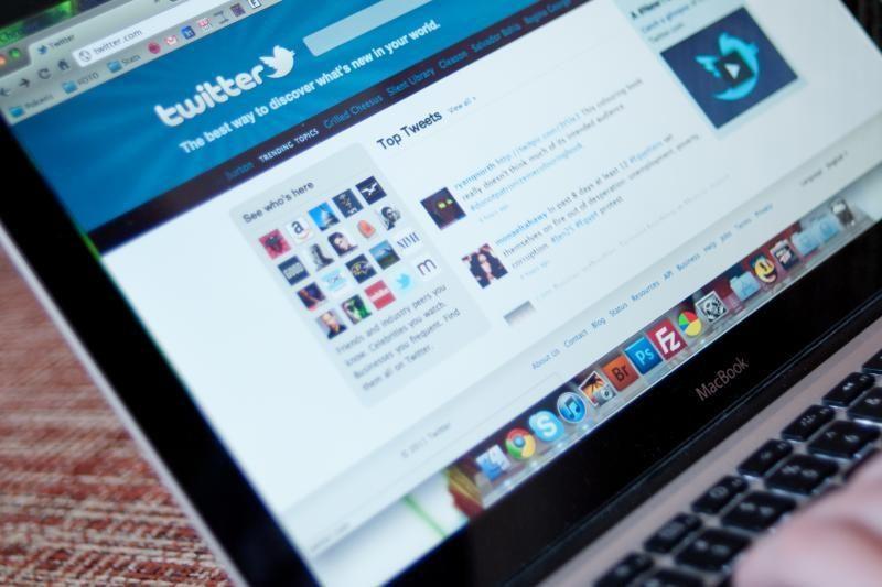 """Socialiniam tinklalapiui """"Twitter"""" - jau 7 metai"""
