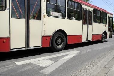 Savaitgalį bus keičiami viešojo transporto maršrutai, ribojamas eismas
