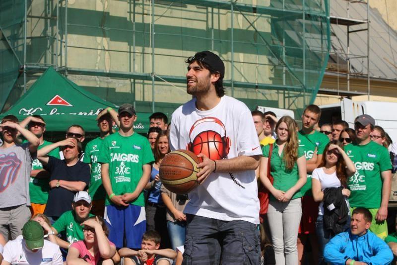 """Prasidėjo registracija į penktąjį """"Žalgirio"""" gatvės krepšinio turnyrą"""