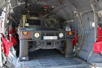 R.Sinkevičius: per Lietuvą gali keliauti daugiau NATO krovinių