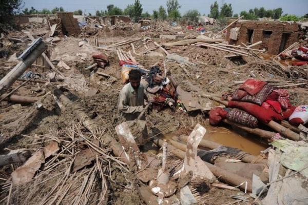 Pakistane nuo potvynių nukentėjo 12 mln. žmonių