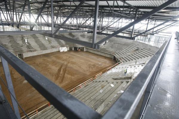 Klaipėdiečiai kviečiami į ekskursiją po areną