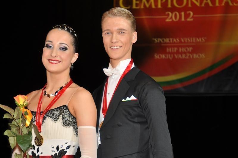 Europos šokių čempionato sidabras - vilniečių porai