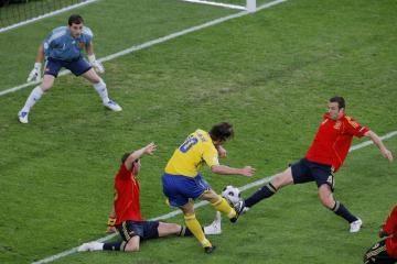 """""""Euro 2008"""": Švedija – Ispanija 1:2"""