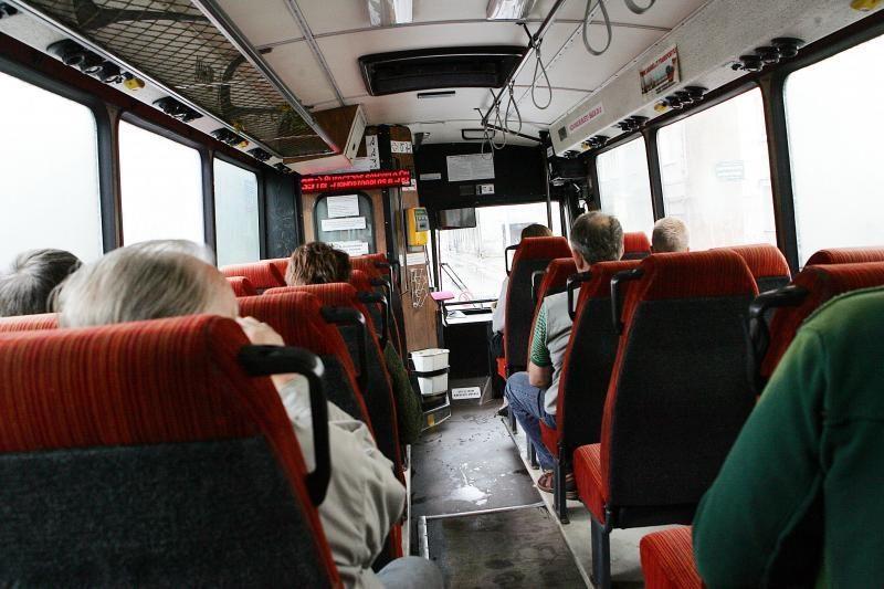 Mirė autobuso vairuotojas vežęs keleivius iš Klaipėdos į Šiaulius