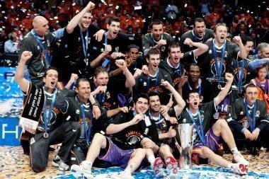 Europos taurė - Valensijos krepšininkams