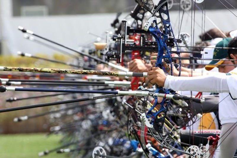 V.Šigauskas Europos šaudymo iš lanko čempionate kovos dėl bronzos