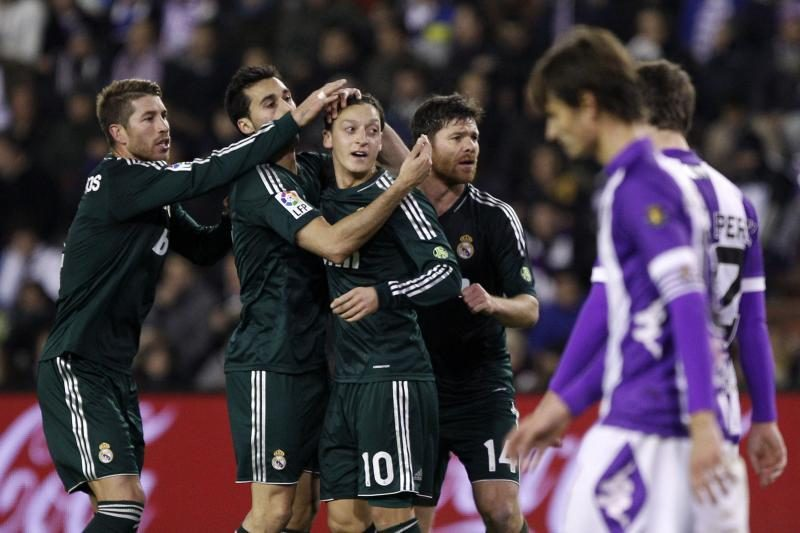 "Ispanijos futbolo lyga: ""Real"" išsigelbėjo mače su ""Valladolid"""