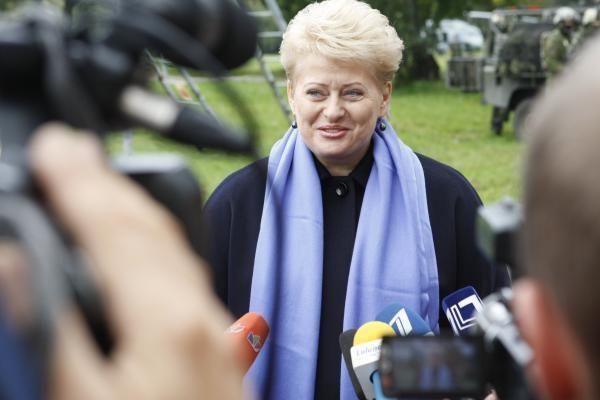 Geriausiai vertinama politikė - D.Grybauskaitė