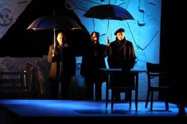 Klaipėdos dramos teatras vaidina Palangoje