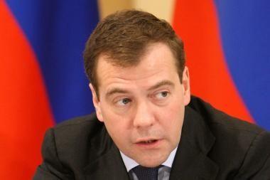 D.Medvedevas atsisakė atvykti į Kovo 11-osios akto 20-metį