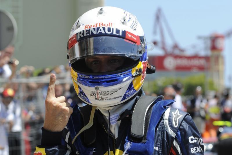 """Europos """"Grand Prix"""" lenktynes iš pirmos pozicijos pradės S.Vettelis"""