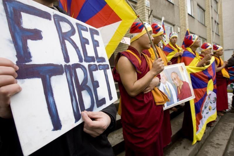 Vilniuje tradiciškai bus minimos Tibeto sukilimo metinės