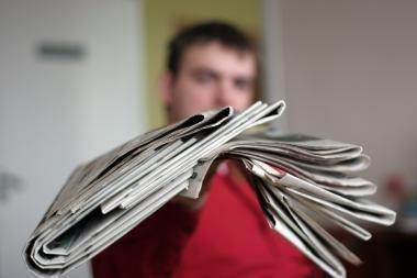 Estijos laikraščių tiražai vasarį toliau mažėjo