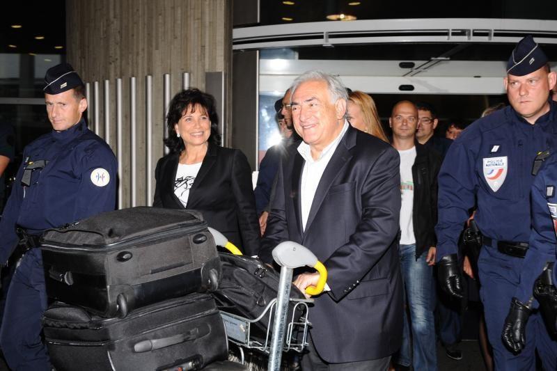 D. Straussas-Kahnas sutiko tvarkytojai sumokėti 6 mln. JAV dolerių