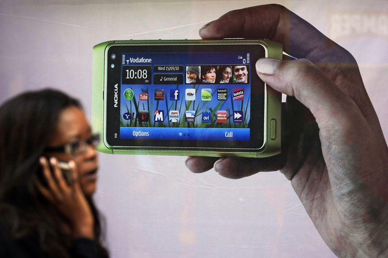 Išmaniojo telefono slaptažodis – rankos delno venų atvaizdas