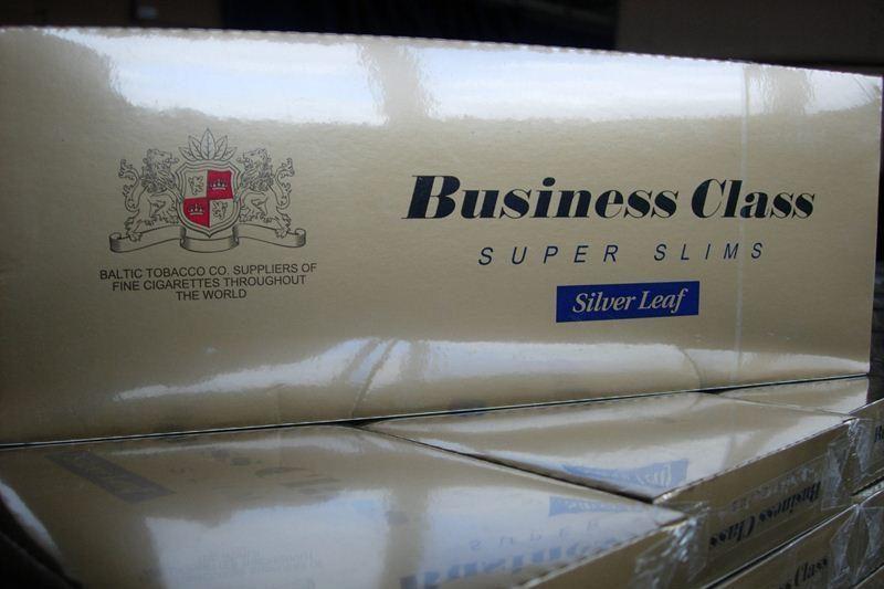 Muitininkai sulaikė cigarečių siuntą už kone vieną milijoną litų
