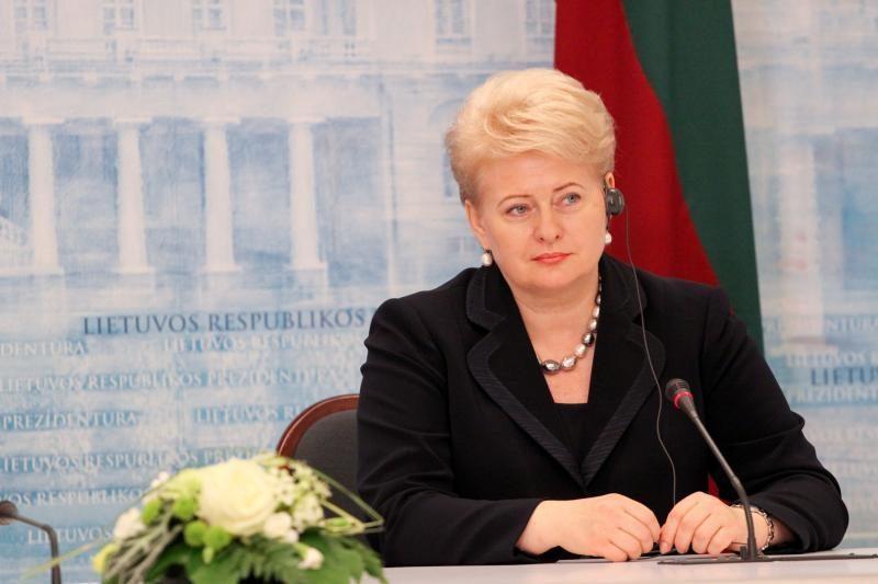 D.Grybauskaitė: ieškoma sprendimų, kaip įveikti  skolų krizę