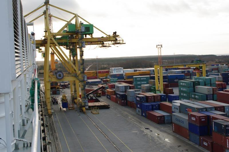 Klaipėdos uoste užfiksuotas naujas krovos rekordas