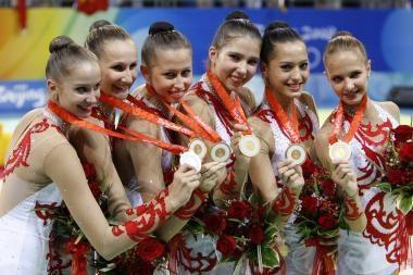 Paskutinį auksą Rusijai pelnė gimnastės