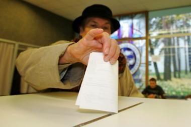Valdantieji nesutinka su pasiūlymais dėl savivaldos rinkimų pertvarkos