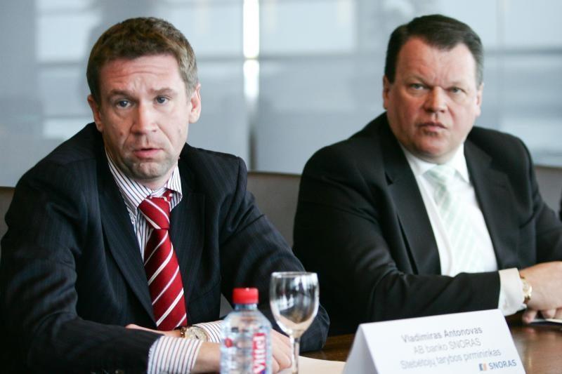 Teismas: R.Baranauskui ir V.Antonovui suėmimas paskirtas pagrįstai