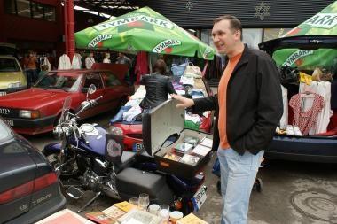 Į Bagažinių turgų – ne tik automobiliu