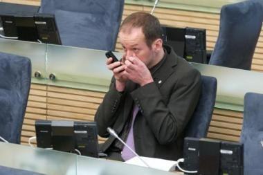 A.Baukutė su R.Žilinsku vėl aiškinsis dėl parlamentinių išlaidų