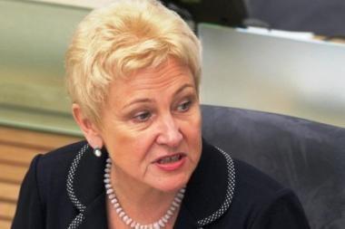 I.Degutienė palaikytų A.Čapliko kandidatūrą į Seimo vicepirmininkus