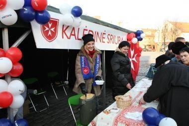 """""""Kalėdinės sriubos"""" akcija – Klaipėdoje"""