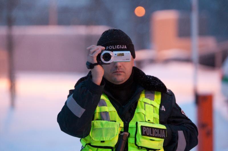 Visą rugpjūtį - policijos reidai šalies keliuose