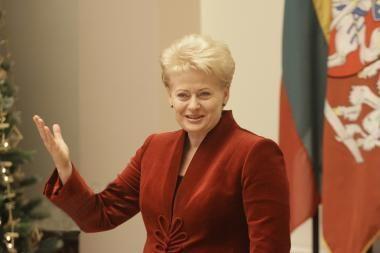 Prezidentės D.Grybauskaitės sveikinimas Naujųjų metų proga